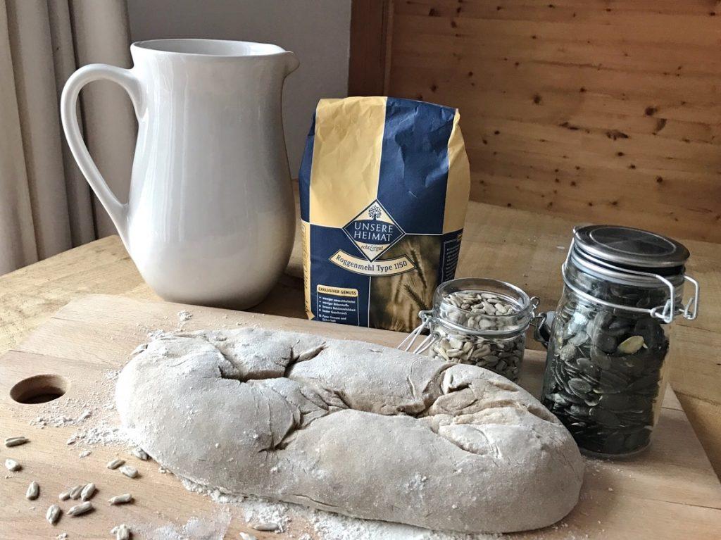Brot selber backem
