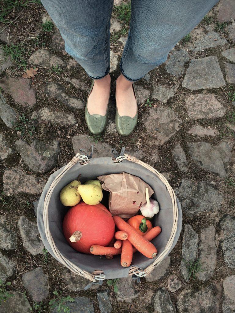 Landleben Markttag